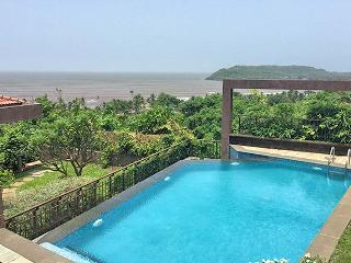 SkyHigh - 4 Bed OceanView Candolim Pool Villa