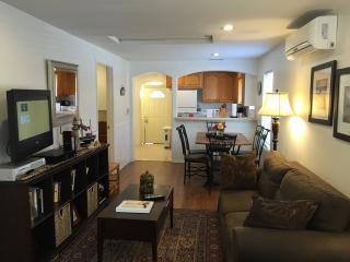 Living room, dinning area
