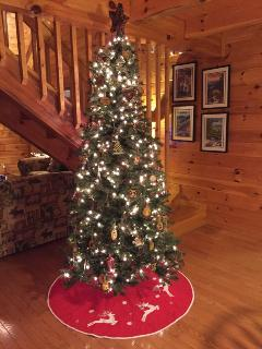 Decorated and ready for you to enjoy for your Christmas.
