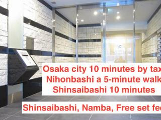 NAMBA,Shinsaibashi,Awesome Location, Osaka