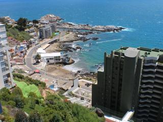 Adorable 1BR, Reñaca, Oceanfront