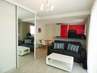 1 bedroom center close Palais and beaches CV5