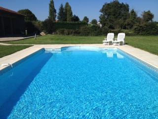 Charentaise Stone House with Own Use Private Pool