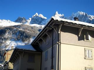 AndrosaceA - super 2 bedroom 2 bathroom in Chamonix centre with fabulous views
