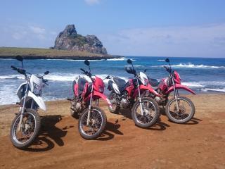 Aluguel de moto e equipamentos de mergulho, Fernando de Noronha