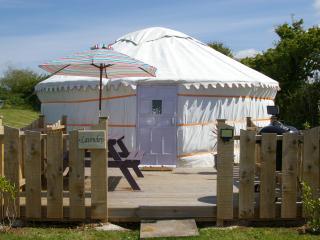 Lavender Yurt