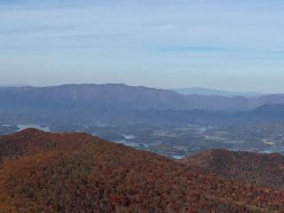 Lake-Chatuge from Brasstown-Bald Summit October 23, 2015