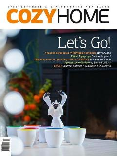 the appartment was featured in Cozy Home design architectural magazine