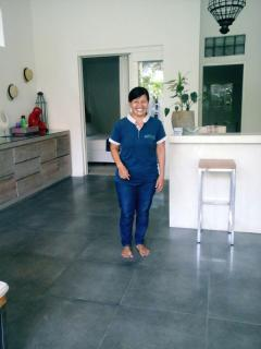 Your housekeeper Nyoman