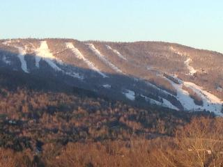 Windham Mountain Ski House with great views of Windham and the Valley.
