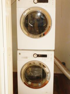 Wash and dryer for 6 nights stay and longer