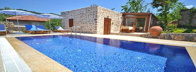 Luxury Private Pool Holiday Villa, Kayakoy