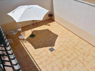 Large country house with sunny terrace, Castellar de Santiago