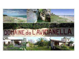 L'Avidanella : Villa privative pour 4 personnes, Santa Lucia di Moriani