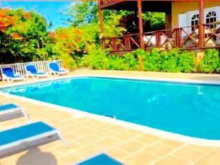 Bois Rouge Villa - St Lucia, bahía de Marigot