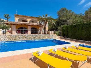 Villa Bonita en Benissa,Alicante,para 12 huespedes