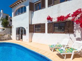 Villa Bellavista en Benissa,Alicante,para 7 huespedes