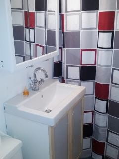 Bathroom.  Make yourself at home.