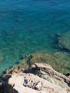 Beach  | Athina Ios Villa | Luxury Villa in Ios Island