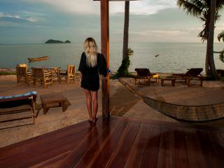 Gecko Beach Villas (One bedroom), Hin Kong Beach. Koh Phangan