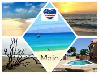 Cabo Verde-Maio-appartamento residence con piscina, Vila do Maio