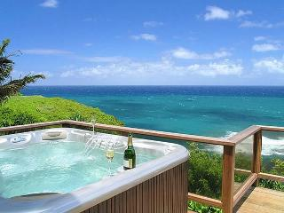 10% off discount for Fall!!  Spectacular Ocean Bluff Home in Princeville