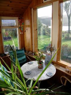Rhu Cottage Porch and Garden