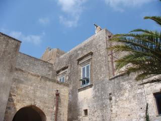 Castle XV- XVIII near the sea in the historic city