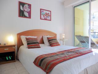 La chambre, avec accés terrasse