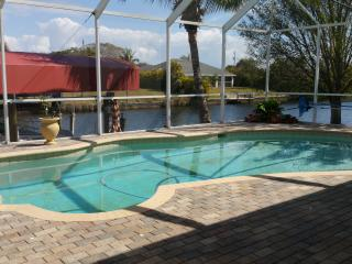 Waterfront Luxury Pool Home on private corner, Cape Coral