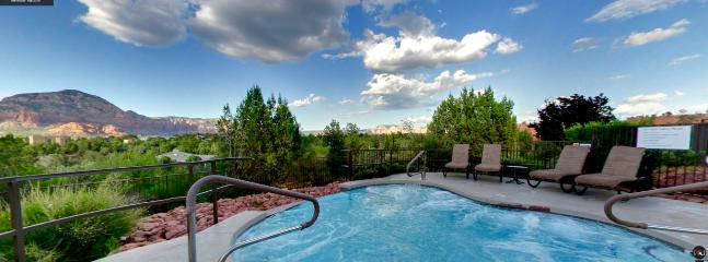 Heated Swimming Pools & Hot Tubs with Amazing Views! SedonaJim. com helping families 25 Years!