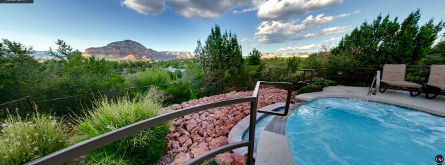 Heated Swimming Pools & Hot Tubs with Amazing Views! SedonaJim. com helping families 25 Years!