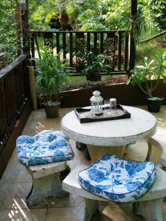 Ground floor patio