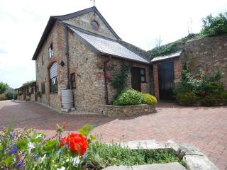 Character barn conversion set in delightful garden, Colyton