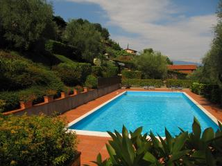 Hillside dream house- private garden & big pool, Soiano Del Lago