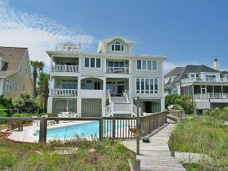 Mansion on the Beach 11 bd, 8ba, Pool, Ocean front, Isle of Palms
