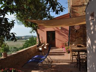 Tuscany, between Florence Pisa and Volterra vacation house breathtaking view, Peccioli