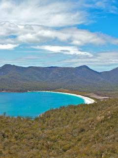 Wineglass Bay - One of the worlds best beaches.