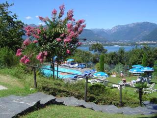 Wohnung mit Aussicht + Pool für 1-2 Personen, Vira (Gambarogno)