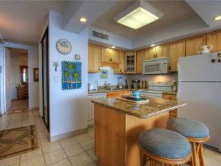 Maui Kai 801 - Renovated kitchen is fully stocked with utensils and includes dishw