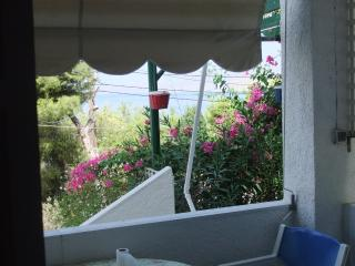 Family 2 bedroom apt with side sea & garden view, Kalymnos