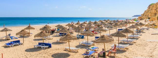 Salema beach 3 km away