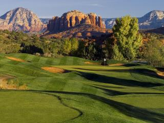 Golf Course Townhouse in the Red Rocks, Sedona