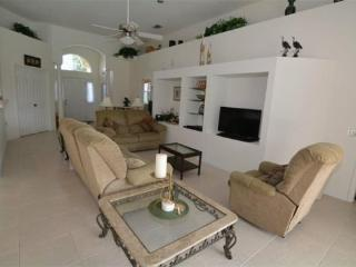 4 Bedroom 3 Bath South Facing Pool Home Overlooking Lake. 355HD, Orlando