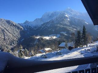 Appartement 'Le Nidamis' face au Mont Blanc, Saint-Nicolas-de-Veroce