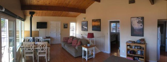 Main Room.  Lake Shasta.  Shasta Lakeshore Retreat.