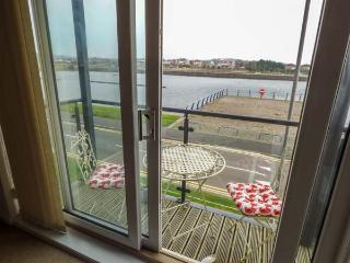 WATERWAY, all first floor, parking, balcony with furniture, in Llanelli, Ref