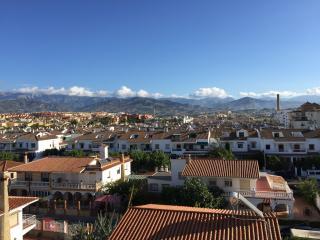 Utsikt från den fantastiska terrassen.