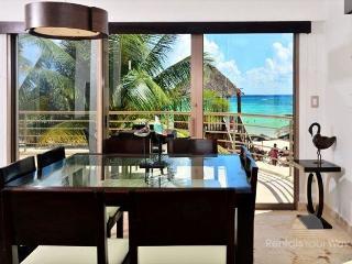 2 Bedroom Oceanfront Condo at Corto Maltes! (CM105) 35% off, Playa del Carmen