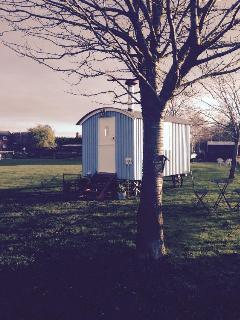 Welcome to our lovely bespoke Shepherds Hut , Great for relaxing weekend country getaways near York